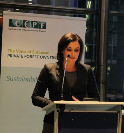Cepf Congratulates Elisabeth Köstinger On Her New Position As